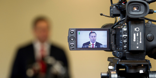 Prime Minister John Key claims nothing much is changing with the legislation. Photo / Simon Baker
