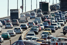 Traffic congestion on the Auckland Harbour Bridge. Photo / NZH
