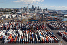 The Ports of Auckland expansion plans have been shelved until their wider effect is assessed. Photo / Brett Phibbs