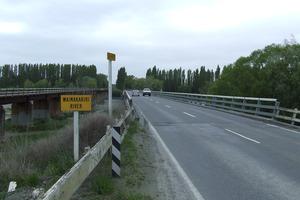 The Waimakiriri Bridge.