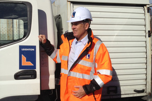 Andrew Stevens says Leighton Contractors' work is in a vital part of the capital's road network.