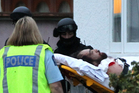 Pere is taken to Hawke's Bay Hospital in Hastings. Photo / Duncan Brown