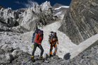 Images from K2 climb. Photo / Chris Warner