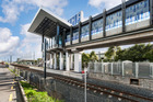 Hawkins project - the Mt Albert rail station, Auckland.