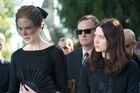 Nicole Kidman (left) and Mia Wasikowska in <i>Stoker</i>.