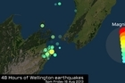 Watch an animation of the last 48 hours of earthquake activity for Wellington and Seddon , New Zealand up until 08:06am on Saturday 17 of August 2013