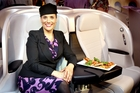 There is a friendly Kiwi atmosphere on Air New Zealand flights. Photo / Natalie Slade