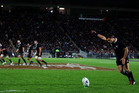 The AIG sponsorship of the All Blacks has helped make the pay increases possible. Photo / Getty Images