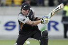 New Zealand skipper Brendon McCullum. Photo / Mark Mitchell