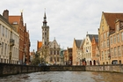 The waterways around Bruges brought  trade and prosperity. Photo / Liz Light