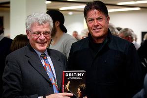 Peter Lineham and Brian Tamaki. Photo / Sarah Ivey