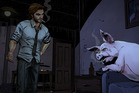 A scene from Telltale Games' new release The Wolf Among Us.