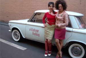 Miss Betty and Miss Shirley's vintage shopping tour takes you off the usual sightseeing tracks. Photo / Supplied