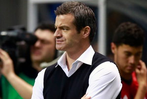 Toronto FC head coach Ryan Nelsen thrives on pressure. Photo / Getty Images