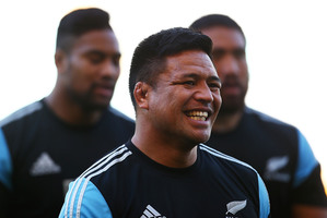 At 34, Keven Mealamu is one of the old guard in the All Blacks. Photo / Getty Images