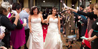 View: Same-sex couples tie the knot