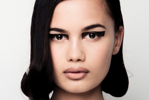 The Zambesi hair and beauty look by Stephen Marr and M.A.C. for The Marr Factory. Photo / Oliver Rose