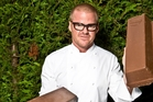 Heston Blumenthal cooks like a mad scientist, mal-adjusting food into strange, disturbing new shapes.