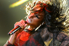 Brandy stormed off stage after just two songs, it has been reported. Photo / AP