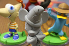 Some of the characters included in the Disney Infinity toy range. Photo / AP
