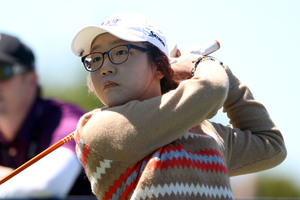 World No 1 amateur golfer Lydia Ko has remained in contention to defend her Canadian Open title on the LPGA Tour. Photo / Christchurch Star