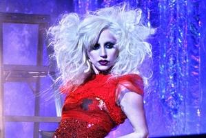 Lady Gaga is feuding with blogger Perez Hilton.