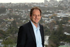 David Shearer stands on Mt Albert on Sunday morning after his win in the Mt Albert byelection, June 2009. Photo / Brett Phibbs