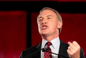 Phil Goff says David Shearer had the hardest jobs in politics. Photo / Richard Robinson