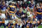 Fumiaki Tanaka of Otago clears the ball during the round one ITM Cup match between Otago and the Bay Of Plenty. Photo / Getty Images.