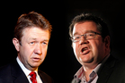 David Cunliffe or Grant Robertson for PM?  Photos / NZ Herald