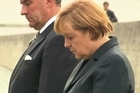 Angela Merkel became the first German chancellor to visit the former Nazi concentration camp Dachau Tuesday but critics slammed her decision to include the stop on an election campaign swing. Ahead of a beer-tent rally for supporters in Dachau, northwest of Munich, Merkel spent an hour at the site, making a short but emotional speech, laying a wreath of flowers and touring the remnants of the camp with a handful of survivors.