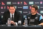 Captain Richie McCaw had reiterated his class on his comeback as had Aaron Cruden at five-eighths, while Ma'a Nonu was a rock in midfield despite an ankle problem. Coach Hansen and Captain McCaw reflect after the first test victory and look ahead to traveling to the earthquake prone capital to play for the Bledisloe.