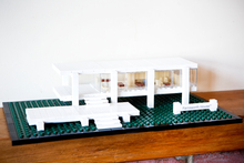 Farnsworth House made from Lego. Photo / Babiche Martens