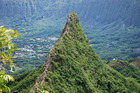 The dramatic mountain peaks in Oahu, Hawaii have drawn film crews for movies such as 'Jurassic Park'. Photo / Getty Images