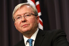 Support for Kevin Rudd plummeting to new lows. Photo / Getty Images