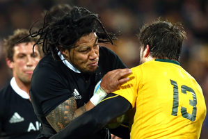 Ma'a Nonu had a strong match. Photo / Getty Images