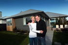 Lisa and Stewart Hampton paid $961,000 for their property. They run their business from the front rooms and live in the back. Photo / Doug Sherring