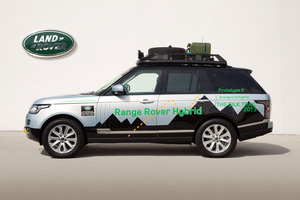 The `Silk Trail 2013' expedition will feature the new Range Rover Hybrid.