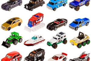 Matchbox cars - from Matchbox NZ.
