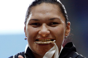 Val Adams' fourth consecutive gold was the highlight.  Photo / AP