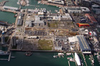 Auckland Waterfront Development Agency - not Mobil, will have to pay $10m to clean up a contaminated part of Wynyard Quarter.  Photo / Richard Robinson