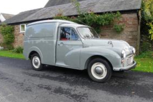 A Morris van similar to that which is sought.