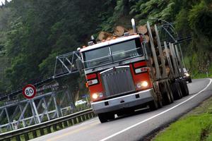 Truckies face a braking ban.  Photo / File