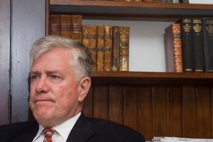 King's College headmaster Bradley Fenner. Photo / Paul Estcourt
