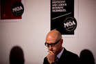 Moa chief executive Geoff Ross faced hard questions at the beer company's annual meeting. Photo / Dean Purcell