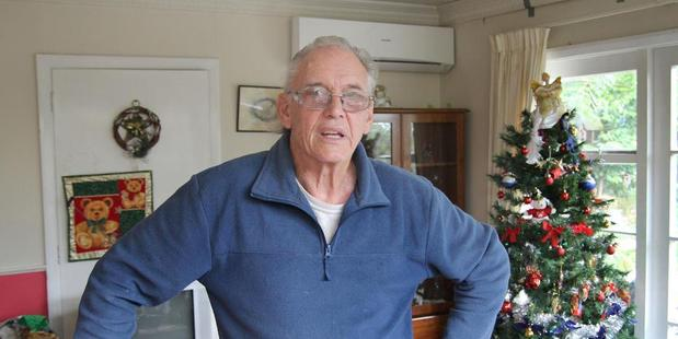John Bennett at his New Brighton Road property. File photo / APN