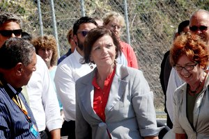 "Corrections Minister Anne Tolley said the Government's ""Out of Gate"" spend of $10 million over two years, was a step in the right direction. Photo / Andrew Warner"