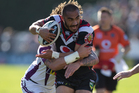 Many of the could learn a lot from Thomas Leuluai. Photo / Brett Phibbs