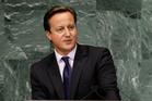 David Cameron, Prime Minister of the United Kingdom. Photo / AP