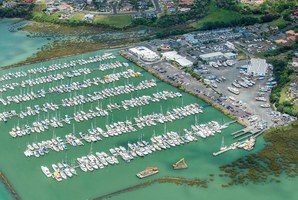 Westpark has 592 berths ranging from 10 to 18 metres.